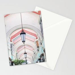Colorful Arcade Stationery Cards