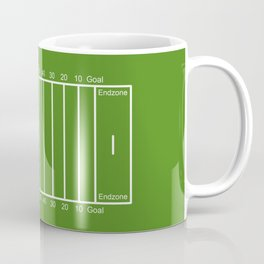 Football Field design Coffee Mug