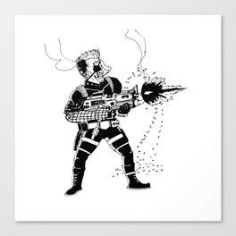Shoot 'Em Up Canvas Print