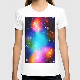 Bright Merging Galaxy Cluster Abell 520 T-shirt