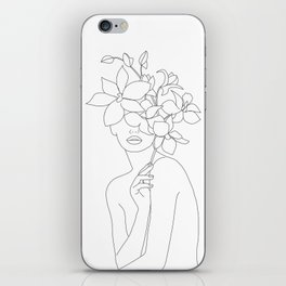 Lady Orchidea iPhone Skin