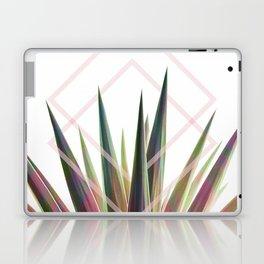 Tropical Desire - Foliage and geometry Laptop & iPad Skin