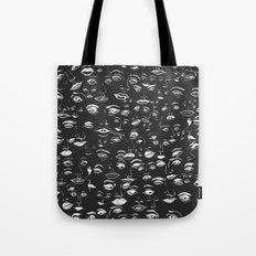 Feminine Faces - Charcoal Tote Bag