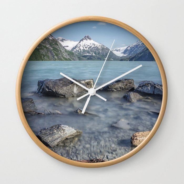 Portage Lake, No. 4 Wall Clock