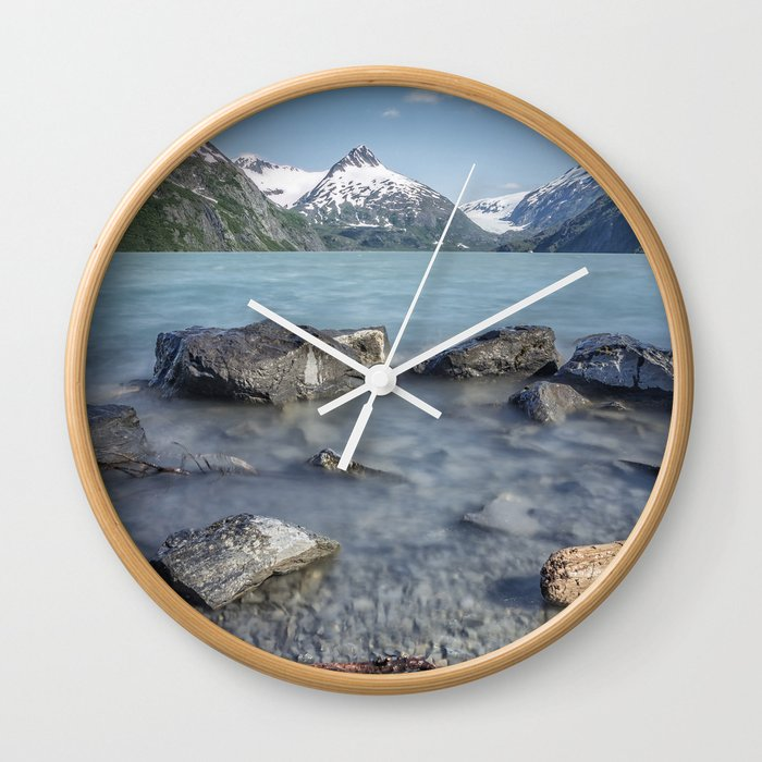 Portage Lake, No. 4 Wall Clock