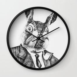 Mr. Rabbit Wall Clock
