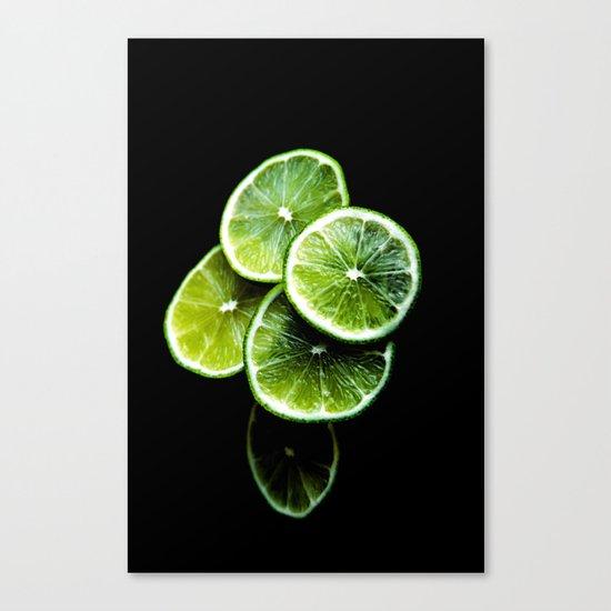 lemon lima Canvas Print