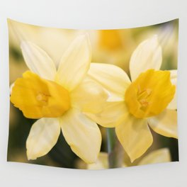 Tête-à-Tête Daffodil Wall Tapestry