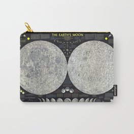 Map of the Moon Carry-All Pouch