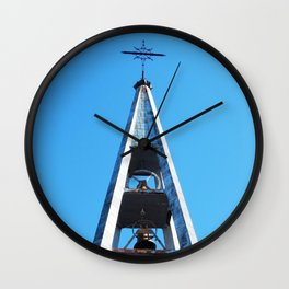 Bell tower church Belfry  Wall Clock