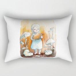 Feeding the Grubs Rectangular Pillow