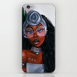 Fleur Noire iPhone Skin