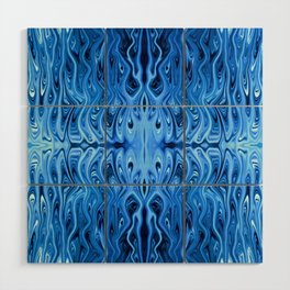 Frozen Squid by Chris Sparks Wood Wall Art