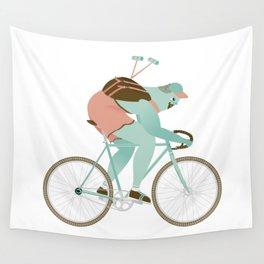 Biker guy Wall Tapestry