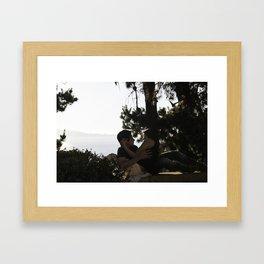 Besos en Vina Del Mar Framed Art Print