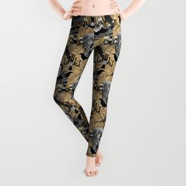 Edgar Allan Poe Leggings