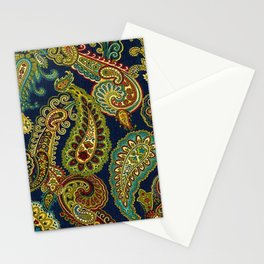 Floral Paisley Pattern 05 Stationery Cards
