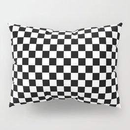 Checker Black and White Pillow Sham