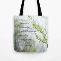 les miserables Tote Bags featuring Les Miserables Love by KimberosePhotography