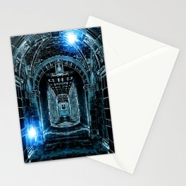 Abstract Gothic Architecture Stationery Cards