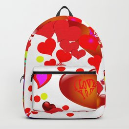 Infinity of love Backpack