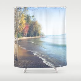 Wasted On You Shower Curtain