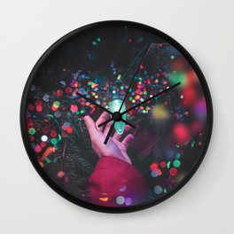 The Christmas Light (Color) Wall Clock