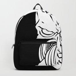 Halloween Oni Asian Demon Backpack
