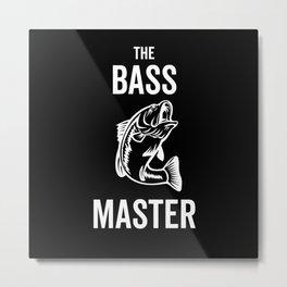 Fishing The Bass Master Metal Print
