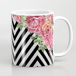 flowers geometric Coffee Mug
