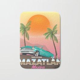 Mazatlán Mexico Bath Mat
