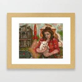 welcome children, welcome. Framed Art Print