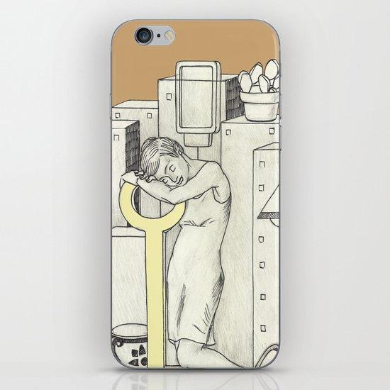 Napping iPhone & iPod Skin