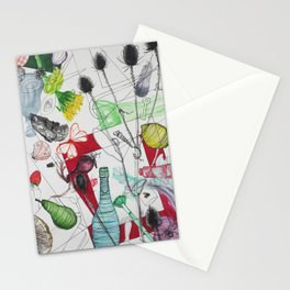 Combination past Stationery Cards