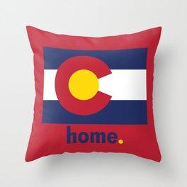Colorado Proud Throw Pillow