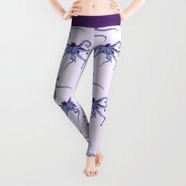 Awesome Purple Octopus Leggings