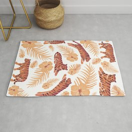 Tigers and Palms  Rug
