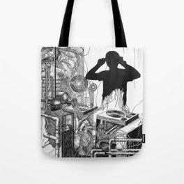 Music Machine Tote Bag