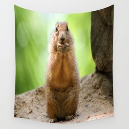 Black Tailed Prairie dog Wall Tapestry