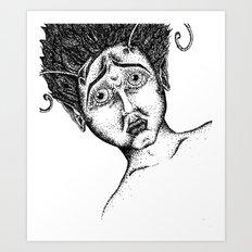 The Bug Lady Art Print