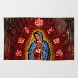 Virgin de Guadalupe Rug
