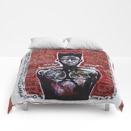 2014 AXUM MAN OF ALL TRIBES  Comforters
