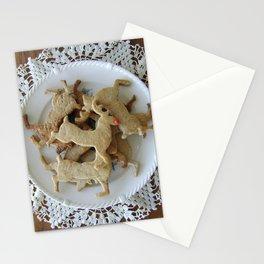 Reindeer Cookies Stationery Cards