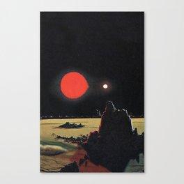 Binary Wasteland Canvas Print