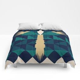 Aztec Peacock Comforters