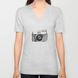 Traveler Camera Unisex V-Neck