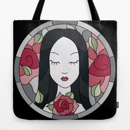 Madeline (Edgar Allan Poe) - Stained Glass Tote Bag