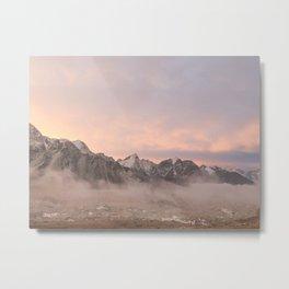 Himalayan Sunrise Metal Print