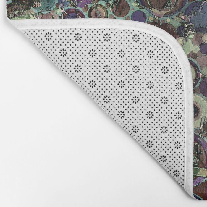 Stone Pattern Fantasy Bath Mat