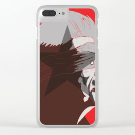 #TITANS SERIES:DAVID BOWIE Clear iPhone Case